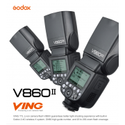 GODOX V860II Kit Batterie